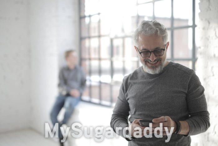 Sugardaddy verliebt - wie er sich verhält