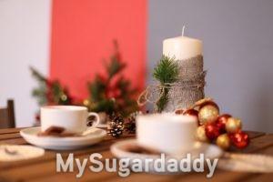 Selbstgemachtes Weihnachtsgesteck